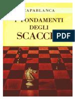 J.R.capablanca - I Fondamenti Degli Scacchi - 1973