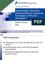 Geotecnologias Uff 2004