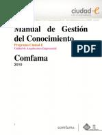 Manual Gestión del Conocimiento