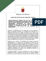 68798- Intrucciones NEE, EI, EP, ESO, Dictamen