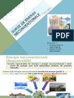 Surse de Energii Neconvenționale