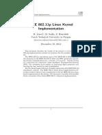 Ieee80211p Linux 2014 Final Report