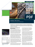 Bentley Rail Track - Product Data Sheet