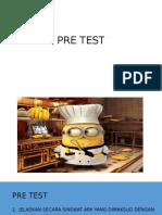 Pre Test Dan Post Test