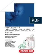 Manual Nebulizador ultrasonico San up