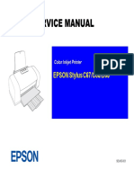 manual de servicio Epson Stylus Color c67 c68 d68