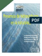 Presencia de Hidrocarburos en La Naturaleza