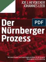 Joe J Heydecker - Der Nurnberger Prozess