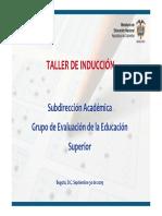 Modelo Basado en Evidencias 2 2016