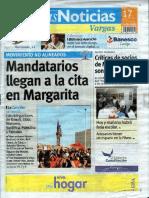 Últimas Noticias Vargas sábado 17 septiembre  de  2016