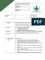 SOP Kontrol Peralatan, Testing, Dan Perawatan Secara Rutin Untuk Peralatan Klinis