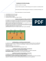 Fundamentos Tacticos Del Voley