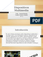 Dispositivos Multimedia PPT