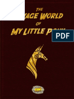 The Savage World of My Little Pony 4th Edition by Giftkrieg23-d5r625s