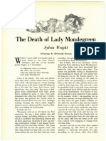 The Death of Lady Mondegree