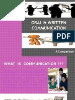 Oral & Written Communication