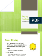 Drying Slide Content