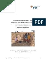 Rapport Tdem Niger 2006 Avec Annexes