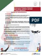 Requisitos para registrar RPAS