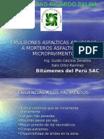 Bituper - Emulsiones Asfalticas, Morteros y Micropavimentos