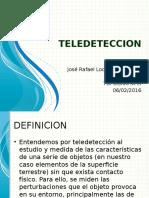 PPT TELEDETECCION