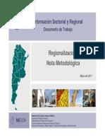 Regionalización - Ministerio de Hacienda y Finanzas Públicas