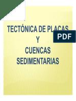 Cuencas Sedimentarias y tectónica de placas