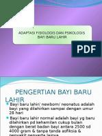 Adaptasi Fisiologis Dan Psikologis Bayi Baru Lahir 2