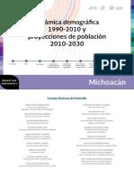 16 Cuadernillo Michoacan. Dinamica Poblacional