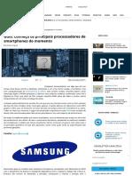 Processadores de Smartphones Do Momento - Mobile