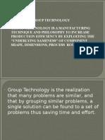 Group Technology Vit