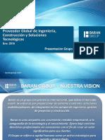 Baran Group - Presentacion de La Compañía 2016
