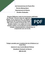 Análisis de Las Constituciones P.R. y U.S.a.