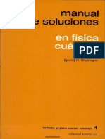 (Berkeley Physics Course 4) Wichmann, Eyvind H.-Manual de soluciones de física cuántica. 4-Reverté (1973)