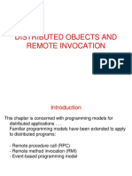 3. Distributed Objects & Remote Invocation