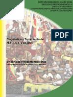 Hallux Valgus - IMSS
