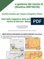 Mappatura Pericolosita Rischio Alluvioni Basso Chiese Lago Idro Fossati