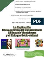 Iexpro-maestria-ee-presentacion Explicacion Sociogenetica Del Conocimiento(Vigotsky)-Maria Velazquez