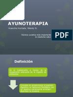AYUNOTERAPIA