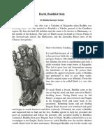 Hariti Buddhist Deity