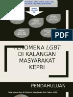 Fenomena LGBT Dikalangan Masyarakat Kepulauan Riau (PPT)