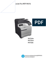 HP MFP M476NW Printer Manual