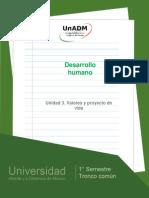 Unidad3.Valoresyproyectodevida
