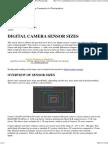Digital Camera Sensor Sizes_ How It Influences Your Photography
