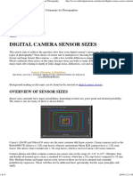 Digital Camera Sensor Sizes_ How It Influences Your Photography