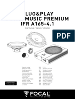 FocalMusicPremium IFRA165-41 User Manual