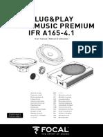 FocalMusicPremium IFRA165-41 User Manual