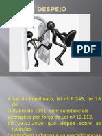 AÇÃO DE DESPEJO.pptx