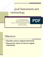 4 H Surgical Instruments and Terminology