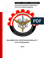 Certificacion Modular